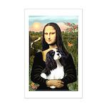 Mona's Tri Cavalier Mini Poster Print