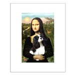 Mona's Tri Cavalier Small Poster