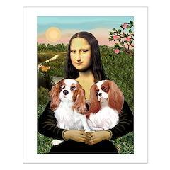 Mona's 2 Cavaliers Posters