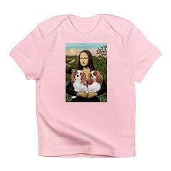 Mona's 2 Cavaliers Infant T-Shirt