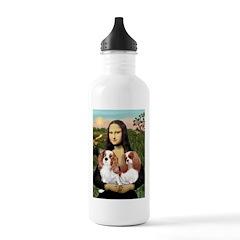 Mona's 2 Cavaliers Water Bottle