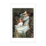 Ophelia & Cavalier Mini Poster Print