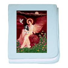Angel (1) & Tri Cavalier baby blanket