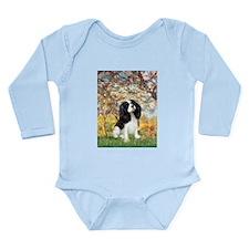 Spring & Tri Cavalier Long Sleeve Infant Bodysuit
