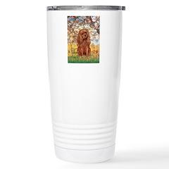 Spring and Ruby Cavalier Travel Mug