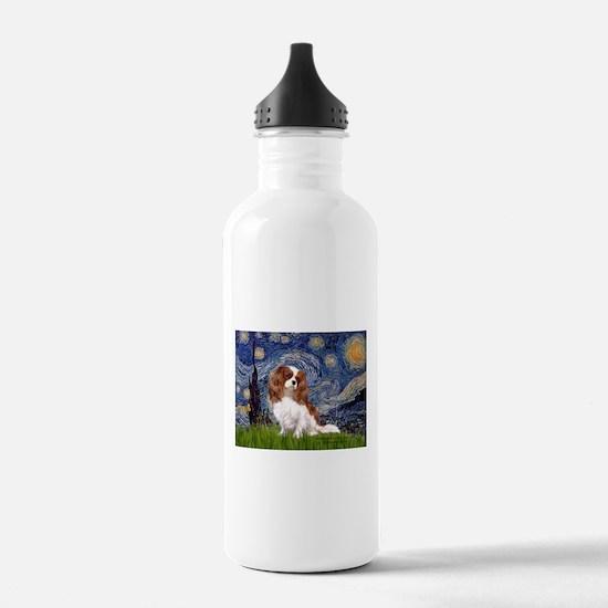 Starry Night Cavalier (2B) Water Bottle