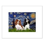 Starry Cavalier Pair Small Poster