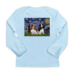 Starry Cavalier Pair Long Sleeve Infant T-Shirt