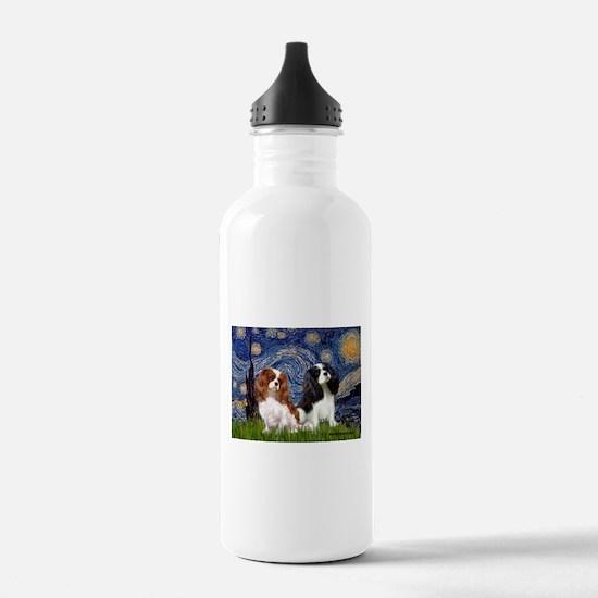 Starry Cavalier Pair Water Bottle