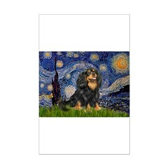 Starry Night Cavalier Posters
