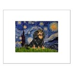Starry Night Cavalier Small Poster