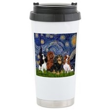 Starry / 4 Cavaliers Travel Mug