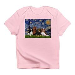 Starry / 4 Cavaliers Infant T-Shirt