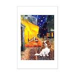 Cafe & Cavalier Mini Poster Print