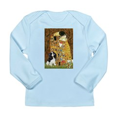 The Kiss & Tri Cavalier Long Sleeve Infant T-Shirt