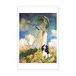 Umbrella / Tri Cavalier Mini Poster Print