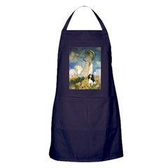 Umbrella / Tri Cavalier Apron (dark)