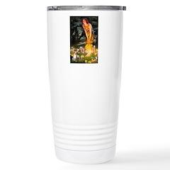 Fairies & Chihuahua Stainless Steel Travel Mug
