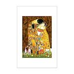 The Kiss & Chihuahua Mini Poster Print