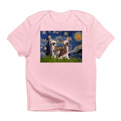 Starry Night / 2Chinese Crest Infant T-Shirt