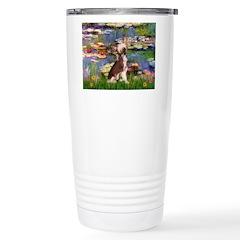 Lilies / C Crested(HL) Travel Mug