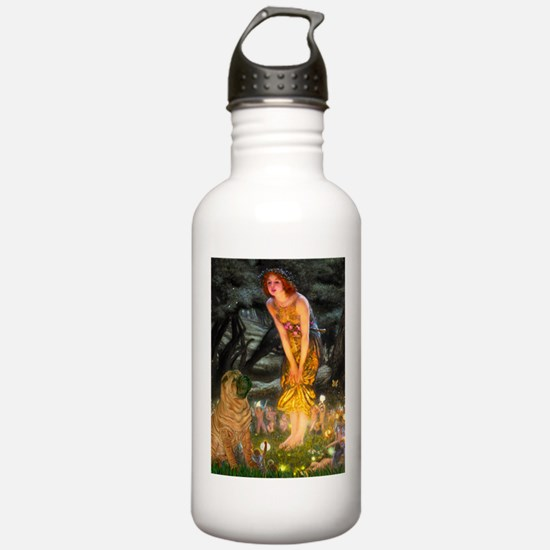 Fairies / Shar Pei Water Bottle