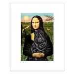 Mona's Black Shar Pei Small Poster