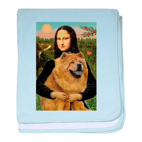 Mona /Chow Chow #1 baby blanket