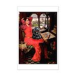 Lady / Cocker Spaniel Mini Poster Print