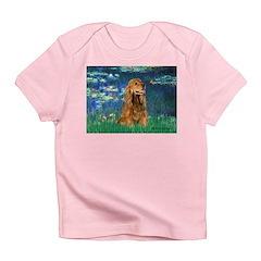 Lilies (5)/Cocker (br) Infant T-Shirt