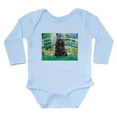 Bridge / Black Cocker Spaniel Long Sleeve Infant B