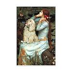 Ophelia / Cocker Spaniel (buff) Mini Poster Print