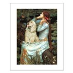 Ophelia / Cocker Spaniel (buff) Small Poster