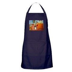 Room/Cocker (Parti) Apron (dark)