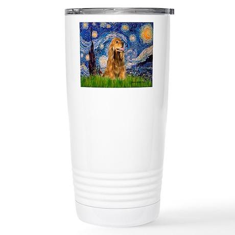 Starry / Cocker (#7) Stainless Steel Travel Mug