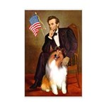Lincoln / Collie Mini Poster Print