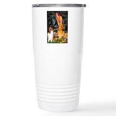 MidEve / Collie (Sbl-Wht) Travel Mug