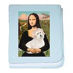 Mona's Coton de Tulear baby blanket