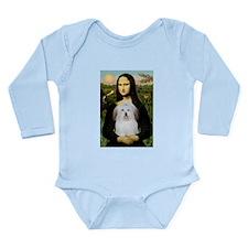 Mona's Coton de Tulear Long Sleeve Infant Bodysuit
