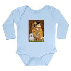 The Kiss / Coton Long Sleeve Infant Bodysuit