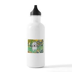 Irises / Coton Water Bottle