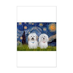 Starry / Coton Pair Posters