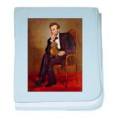 Lincoln's Dachshund baby blanket