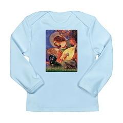 Mandolin Angel & Doxie (BT) Long Sleeve Infant T-S