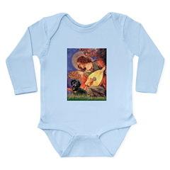 Mandolin Angel & Doxie (BT) Long Sleeve Infant Bod