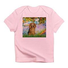 Garden -Dachshund (LH-Sable) Infant T-Shirt