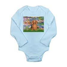Lilies (2) & Doxie (LH-Sable) Long Sleeve Infant B