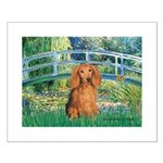 Bridge & Doxie (LH-Sable) Small Poster