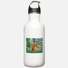 Bridge & Doxie (LH-Sable) Water Bottle