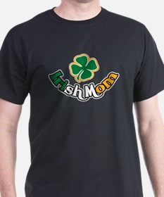 Irish Mom Black T-Shirt